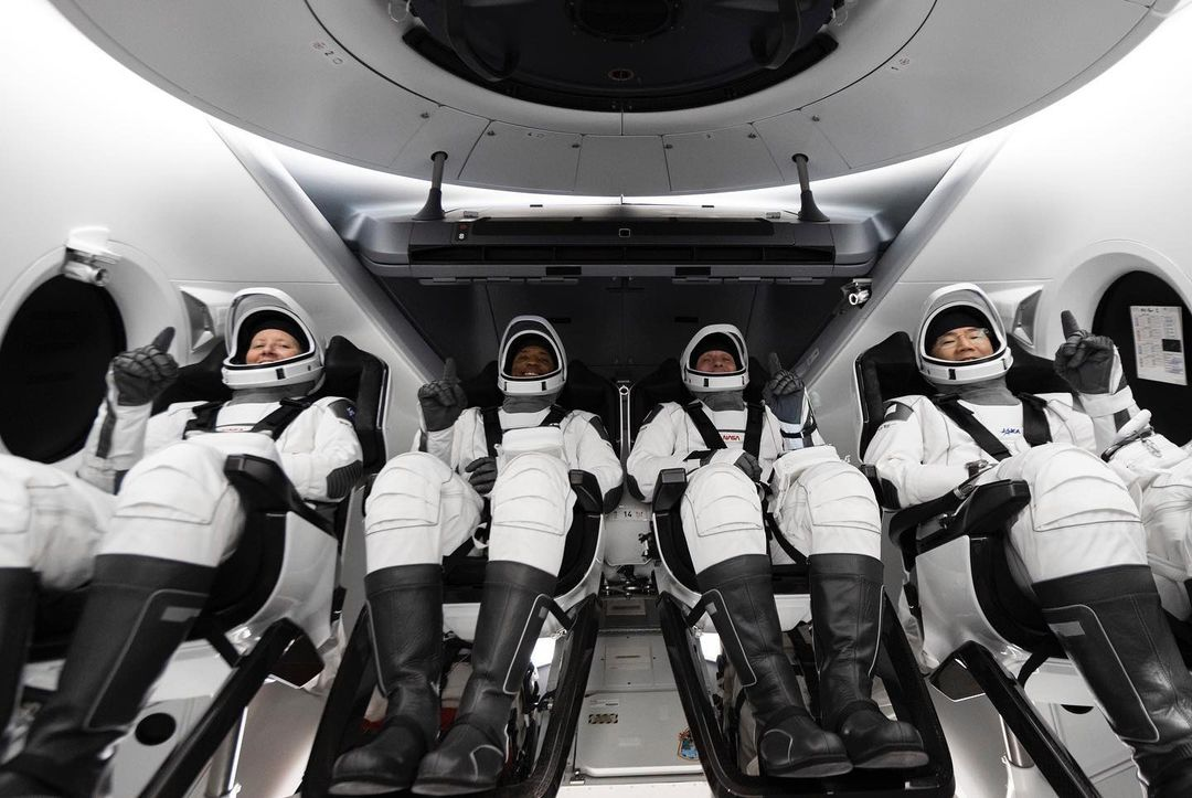 SpaceX on Instagram, The crew is go for launch