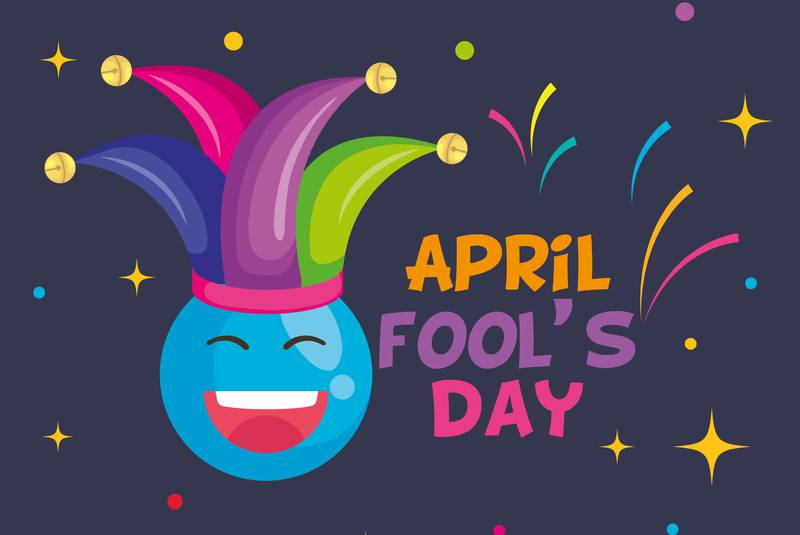 April Fools Day Graphic