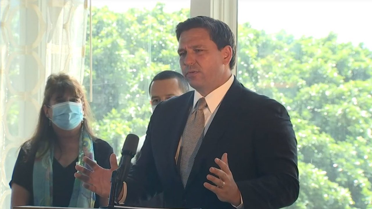 Governor Ron DeSantis announces Phase 3 reopening for the State of Florida