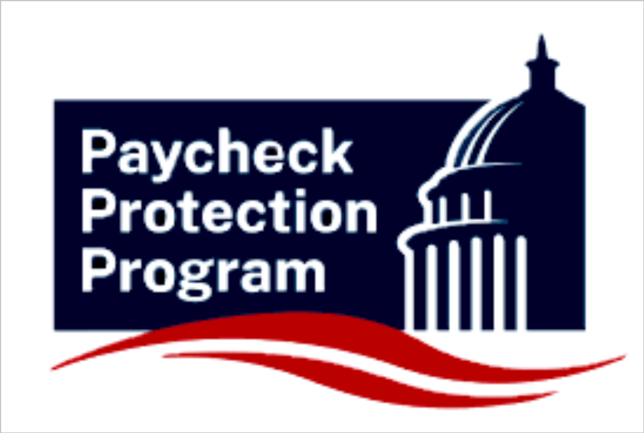 Graphic image of the Capital with the words Paycheck Protection Program PPP