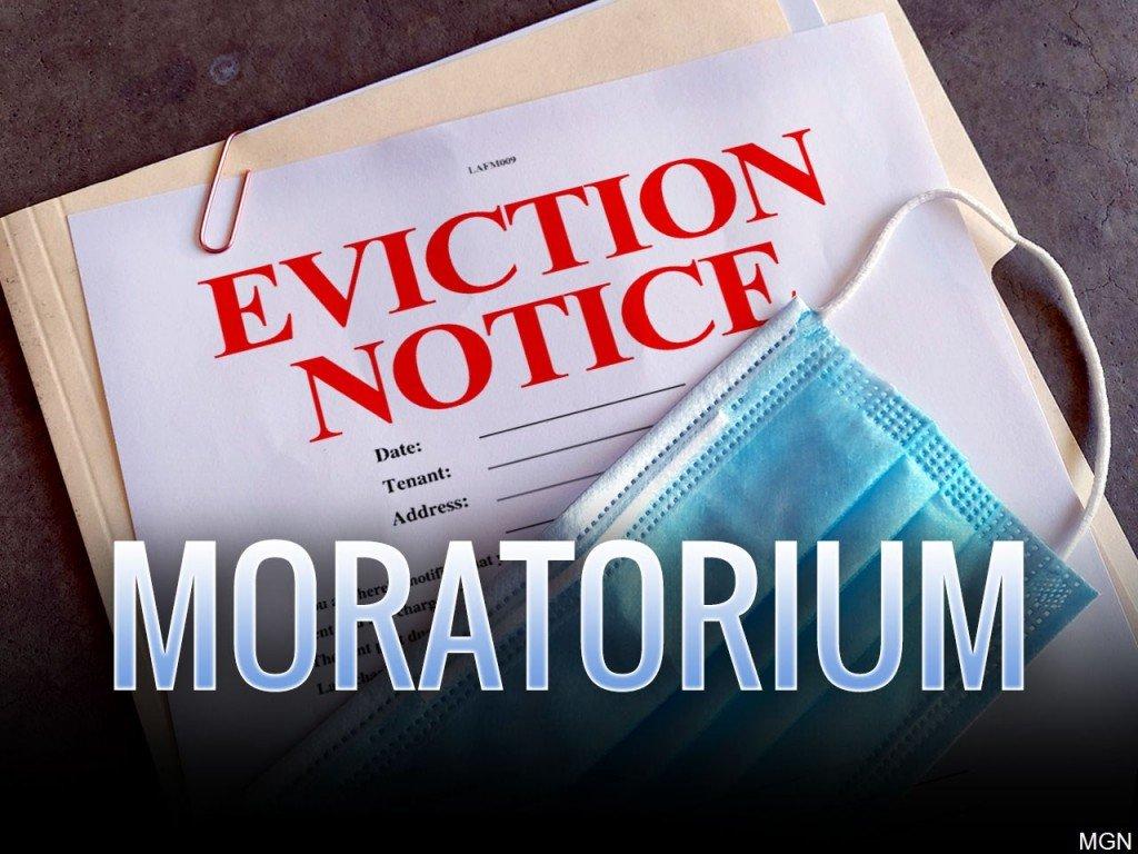Graphic representing the new CDC Eviction Moratorium Update
