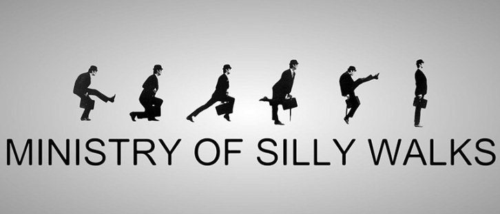 Monty Python Ministry of Silly Walks Graphic