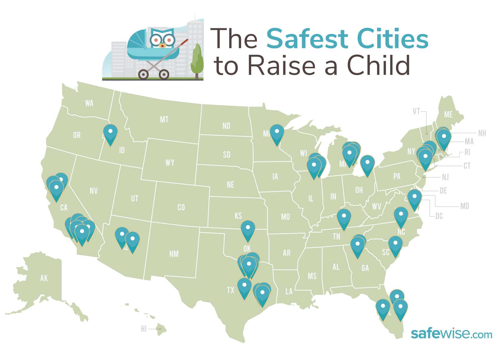 Port St. Lucie ranks in the Top 20 'America's Safest Cities to Raise a Child,' study finds
