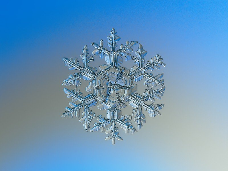 Photo of a Snowflake with macro photography by CC Alexey Kljatov