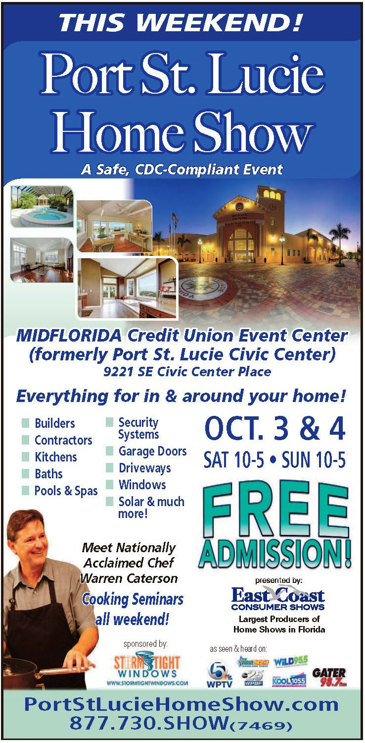Port St. Lucie Home Show 2020 Flyer