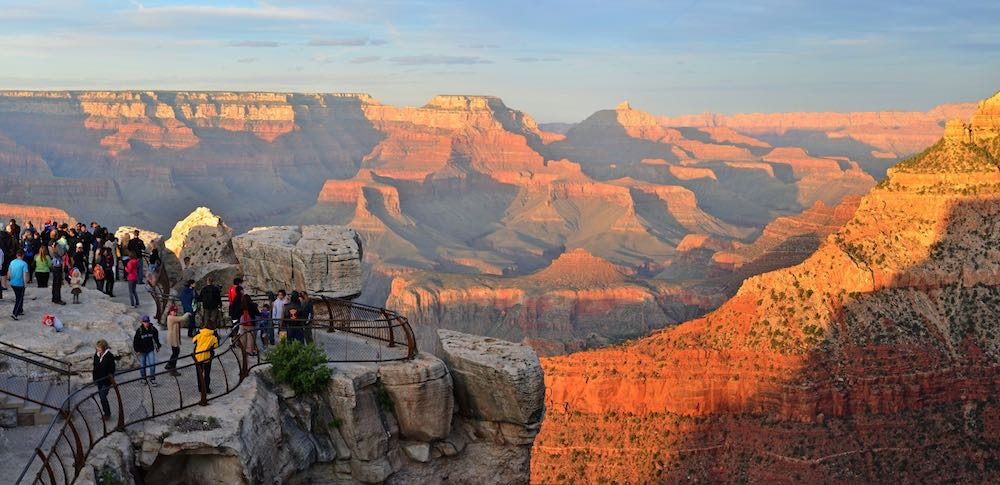 Veterans can enjoy national parks such as the pictured Grand Canyon National Park free of charge
