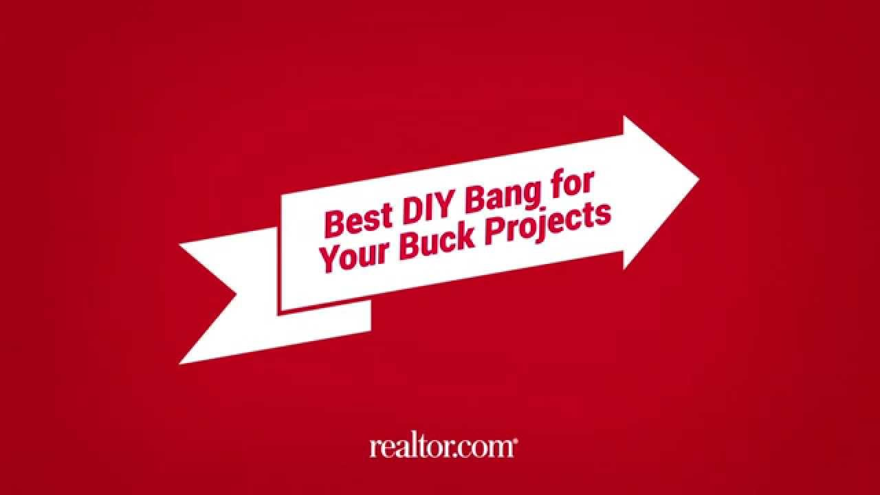 Graphic for Realtor.com's Best DIY Bank for Your Buck Projects