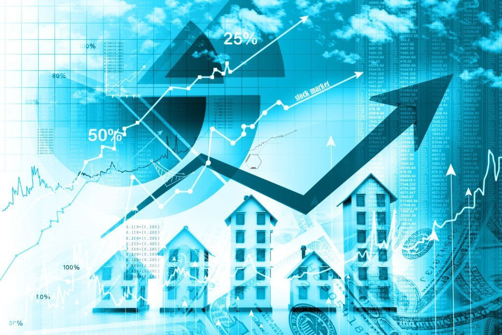 Graphic for Article showing a Graph of the housing market