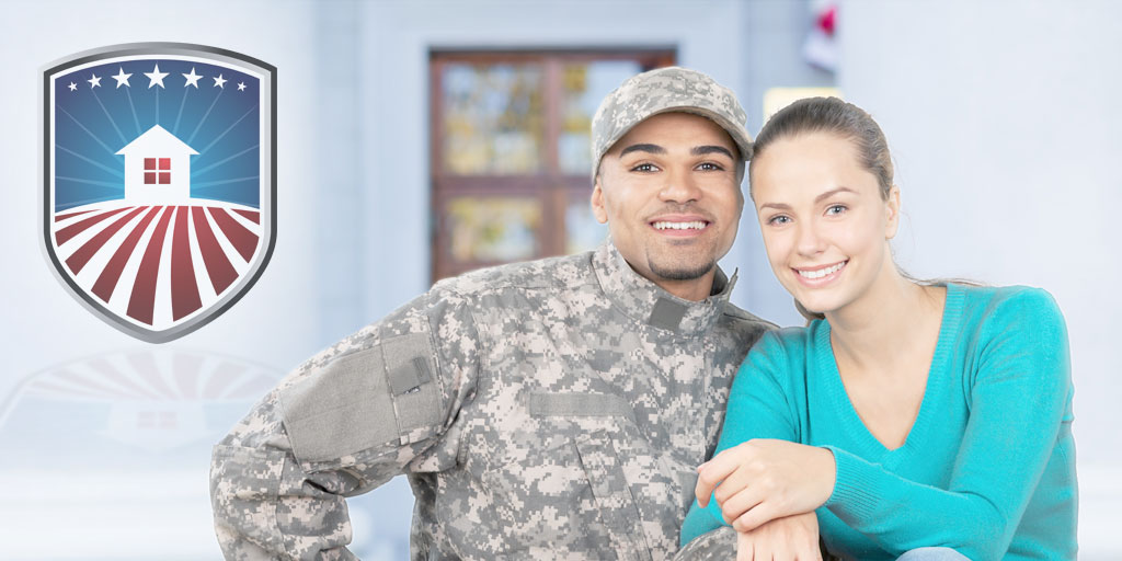 mortgage - military veteran couple using VA Home Loan to get dream home